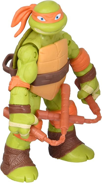 Amazon.com: Michelangelo, figura de acción de ...