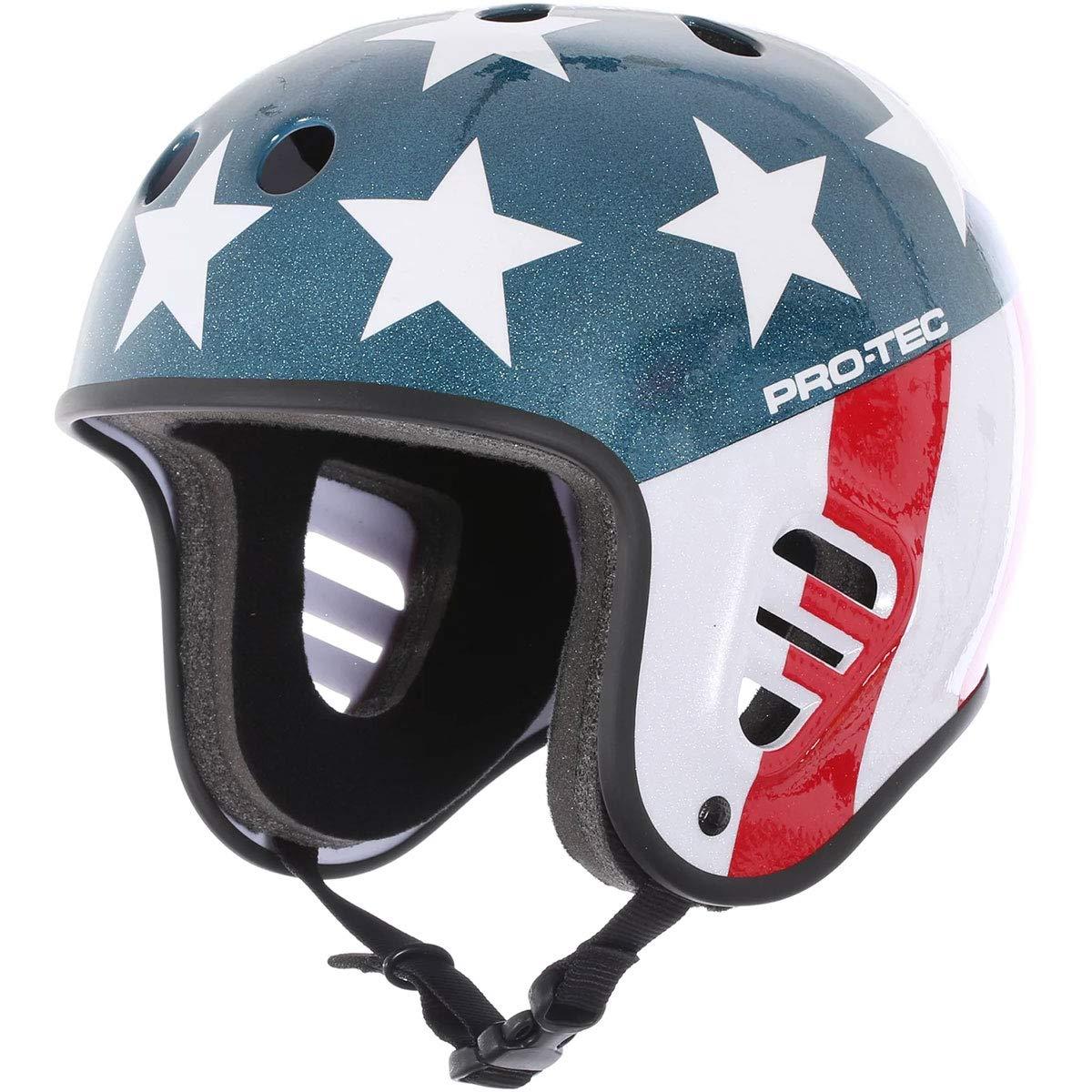Pro Tec Full Cut Easy Rider Helmet - Black - LG