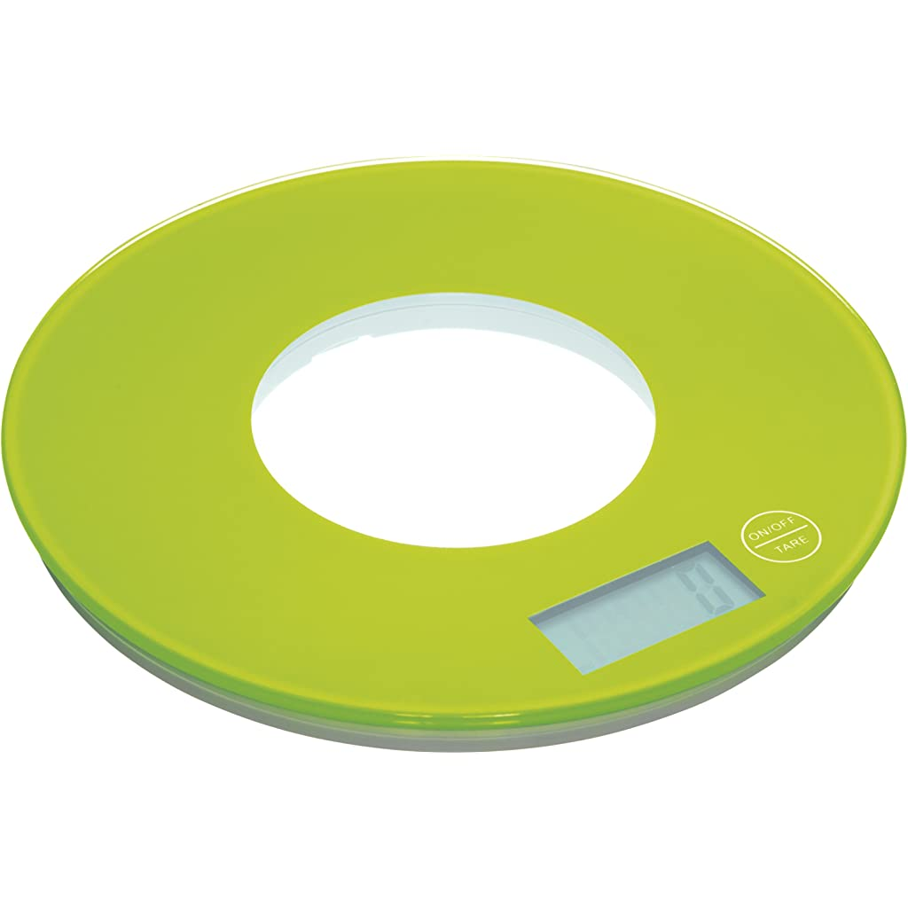 Kitchen Craft Colourworks Lime Green Kitchen Weighing Scales