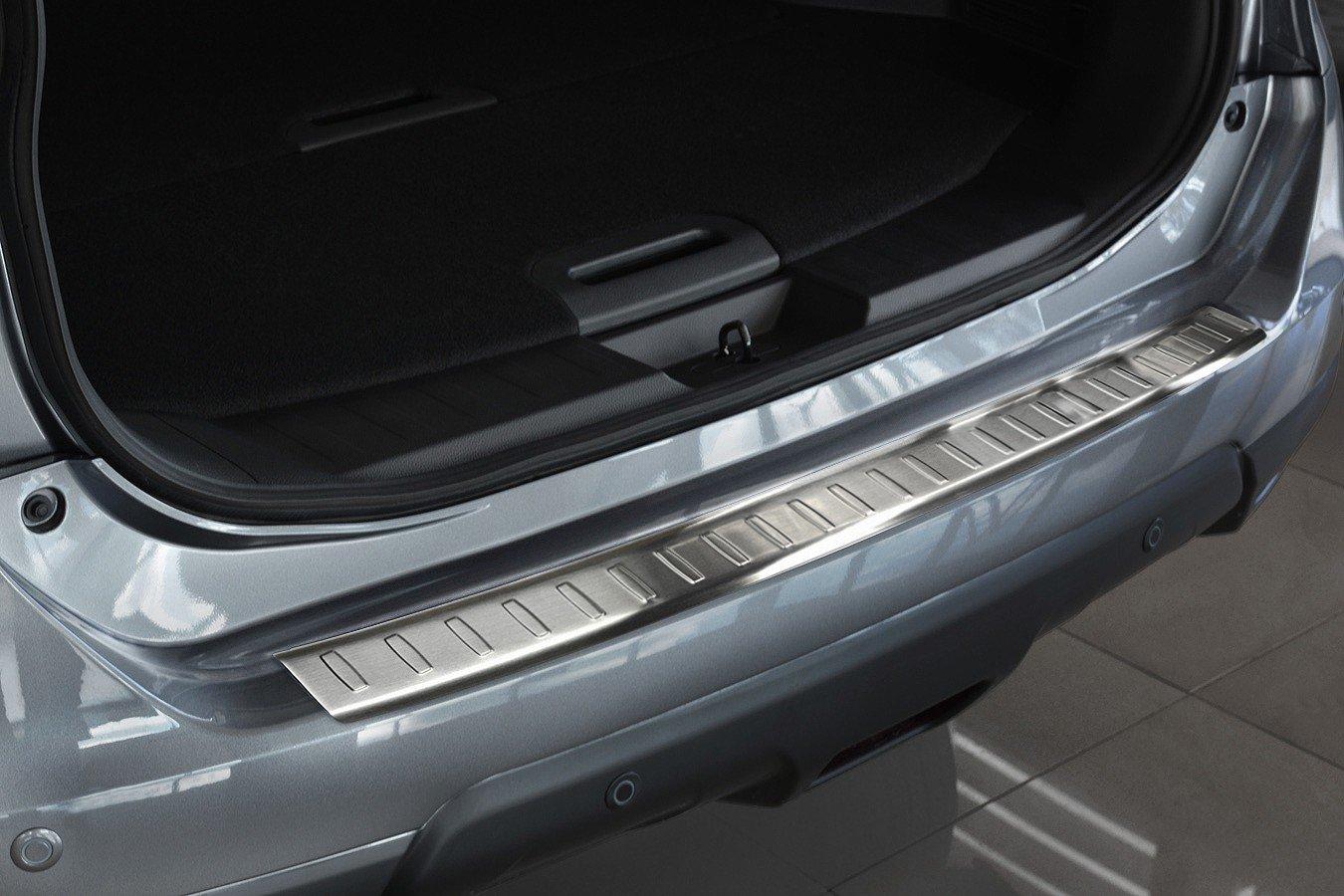 Tuning-Art EX102-L104 Edelstahl Ladekantenschutz und Einstiegsleisten fahrzeugspezifische Passform