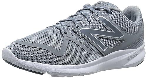 New Balance Zapatillas de Tela Para Hombre Gris Gris: Amazon.es: Zapatos y complementos