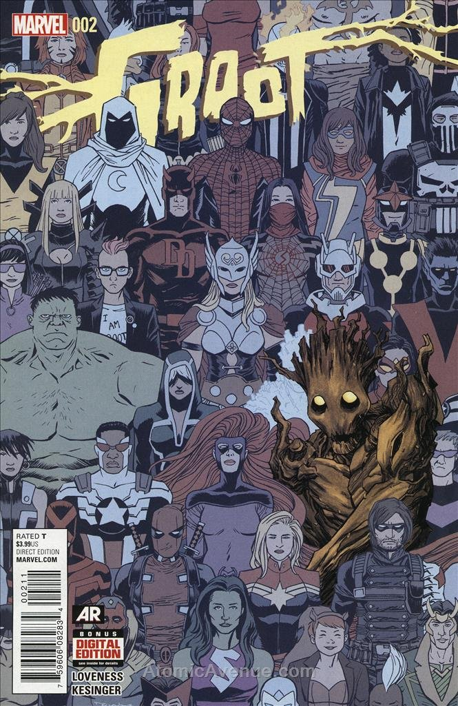 Groot #2 VF/NM ; Marvel comic book