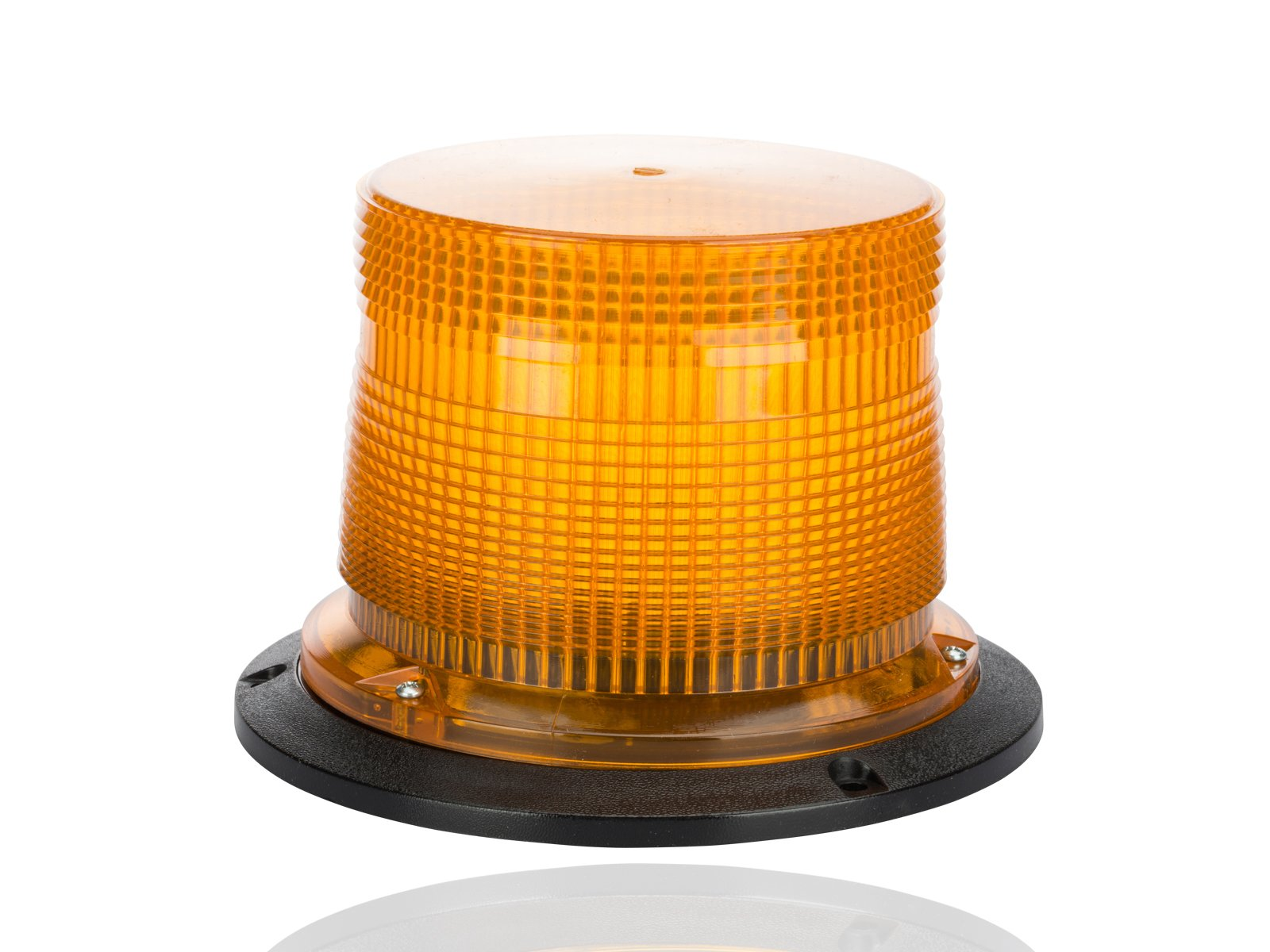 Double Flash Super Industrial Strobe, 120VAC, 0.2 Amps, Amber