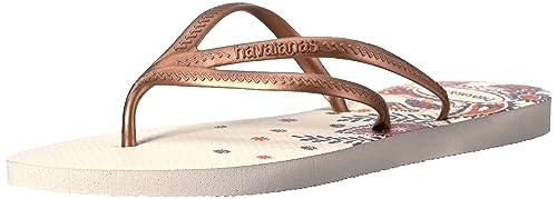 7b8c9991f Havaianas Women s Prints Flip Flop Sandals