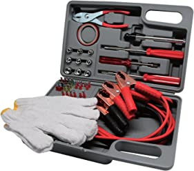 Journeys Edge 35-Piece Emergency Road Assistance Tools ...