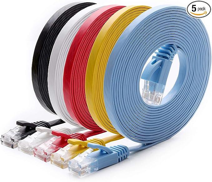 Black`cable rj45 ethernet 10 inch 25cm network cat patch^cord internet cat6 P0CA