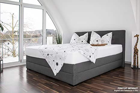 Bellvita Silverline Wasserbett in Boxspringbett-Optik
