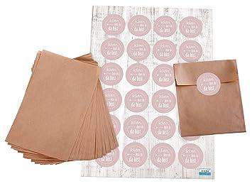 Bolsas de Juego: 24 marrón pequeñas papel de plano Bolsa ...