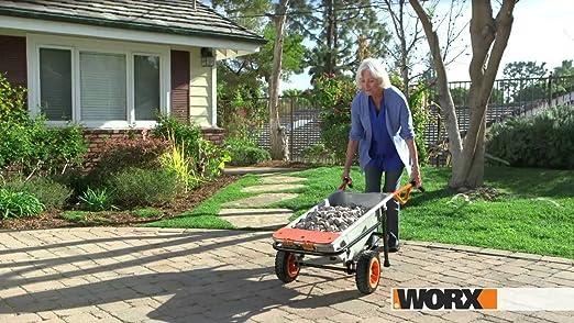 Amazon.com: WG050 + WG119 Worx 8-in-1 carretilla Aerocart + ...