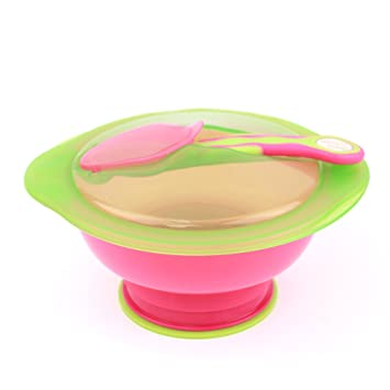Pink Vital Baby Unbelievabowl Suction Bowl