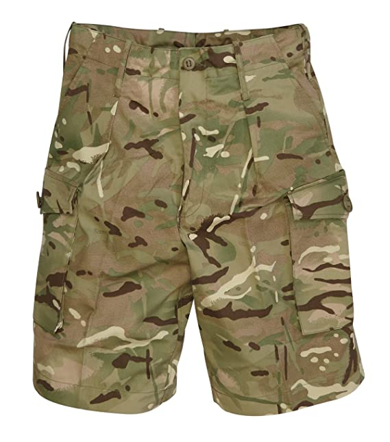 British Army Surplus MTP Combat Shorts - USED Grade 1