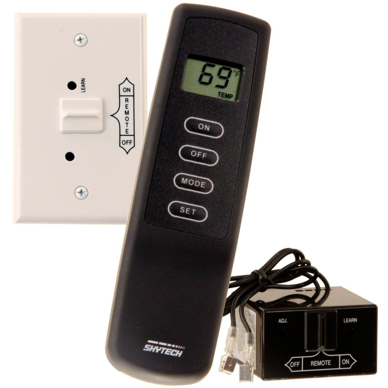 Skytech Millivolt Wireless On/Off With Thermostat Remote And Receiver - Sky-1001th-a by SkyTech