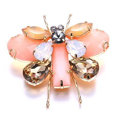 c3fd910d4 TOOGOO Cute Animal   Insect Butterfly Brooches Pins for Women ...