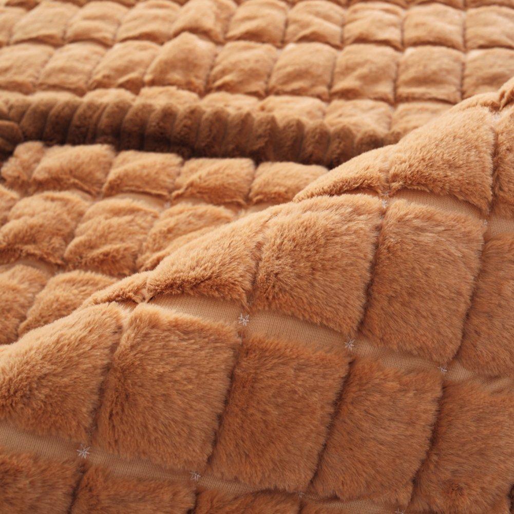 FPNMKGKDF Sofa-Handtuch für ledersofas,Plüschsofa Abdeckung Verdicken Verdicken Verdicken sie Winter Anti-Schleudern Europäischer Stil Kombination Alle Sofa-Kissen-A 70x100cm(28x39inch) B0795F286S Sofa-überwürfe f89661
