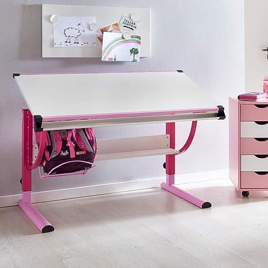 KS-Furniture Moritz - Escritorio Infantil de Madera (120 x 60 cm ...
