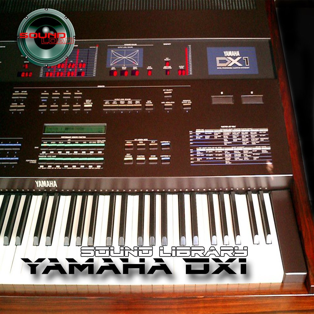 YAMAHA DX-1 Huge Sound Library & Editors on CD