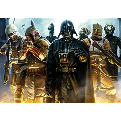 Star Wars - He's All Yours, Bounty Hunter - 500 Piece Jigsaw Puzzle: Toys & Games
