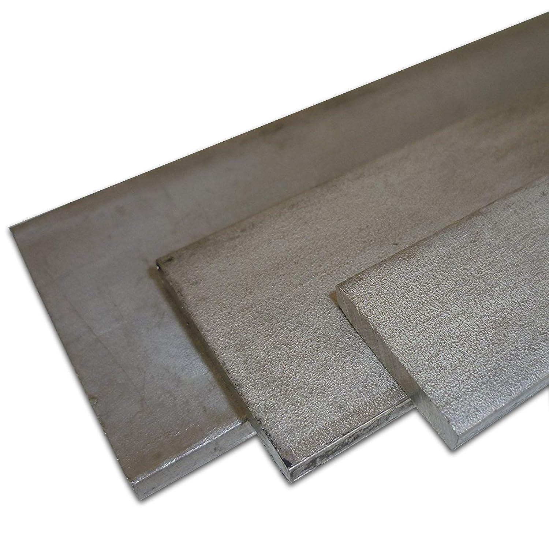 L/änge ca Bandstahl 1.4301 V2A gewalzt Ma/ße 60 x 8 mm B/&T Metall Edelstahl Flachstahl roh 1,0 m