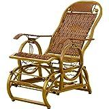 Amazon.com: Silla de mecedora para ancianos, sillón de ...