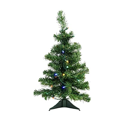 d304d8de469 Image Unavailable. Image not available for. Color  Northlight 2  x 14 quot   Pre-Lit Mixed Classic Pine Medium Artificial Christmas Tree