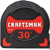 CRAFTSMAN Tape Measure, Easy Grip, 30-Foot (CMHT37470S)
