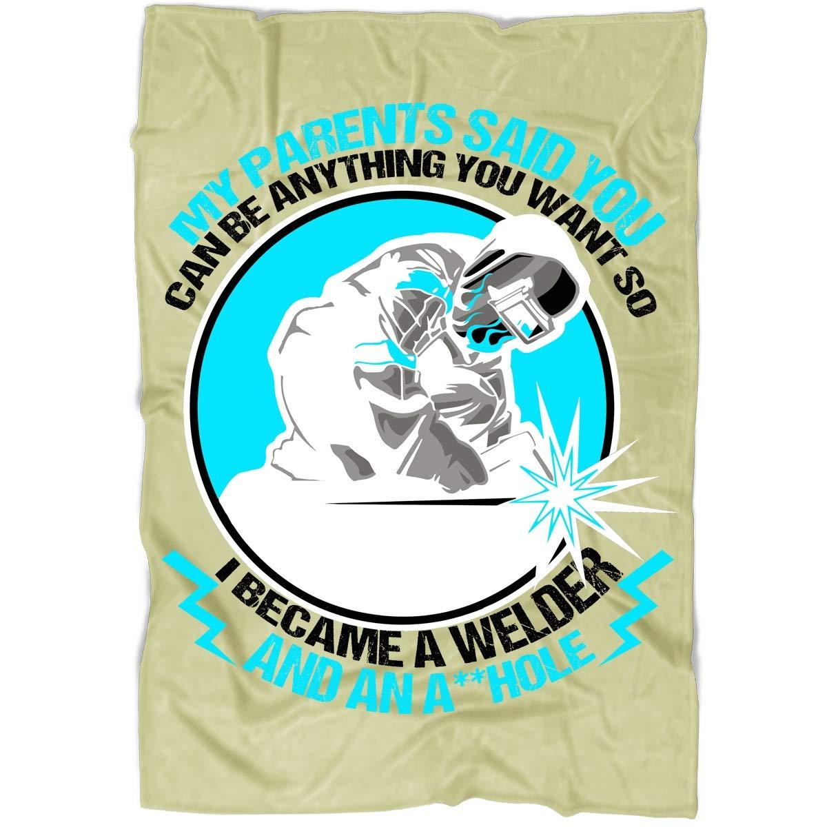 Amazon.com: TUCSTORE I Became A Welder Blanket, Bedding ...