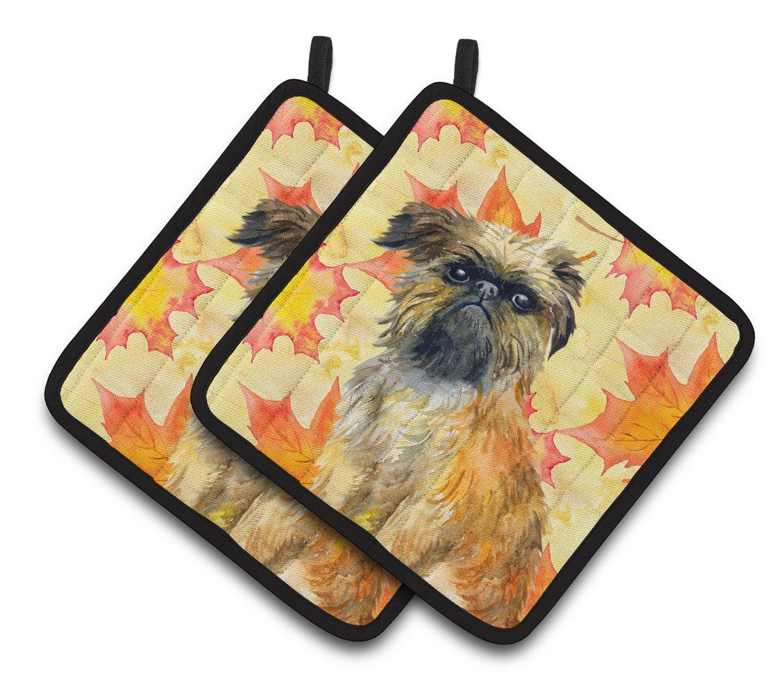 7.5H x 7.5W Dog Carolines Treasures BB9779PTHD Basenji Love Decorated pot holder