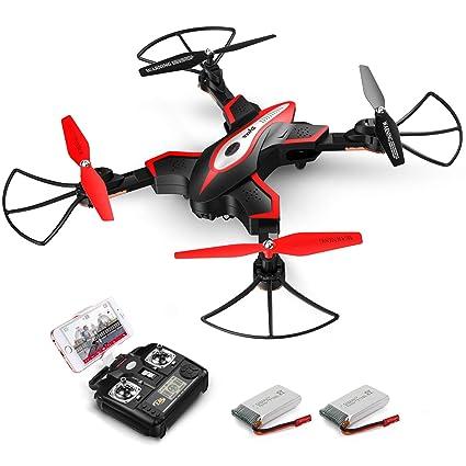 Radio Control & Control Line Responsible Eachine Drone X Pro Foldable 2.4ghz Quadcopter Wifi 1080p Camera 4 Pcs Batteries