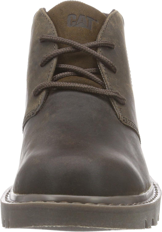 Cat Footwear Stout, Stivali Chukka Uomo Marrone Brown