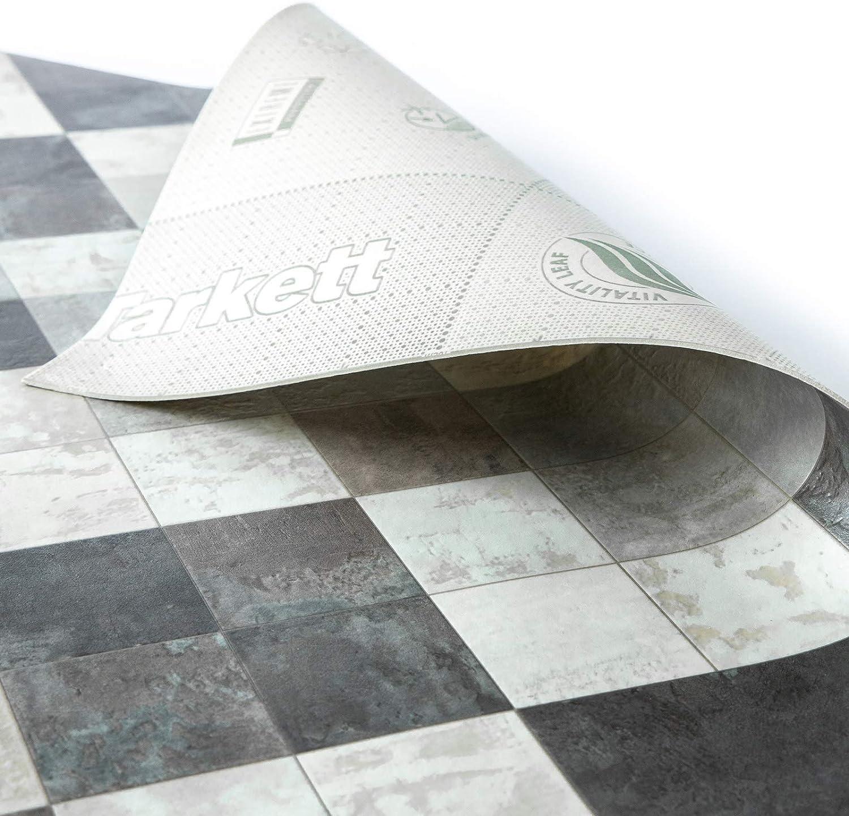 Stickers Effet Mosa/ïque Aspect Mosa/ïque Grise - 100x250 cm Film Vinyle Pour Meuble /& Sol Sol PVC Rouleau Antid/érapant /& 100/% /Écologique casa pura Rev/êtement Sol PVC