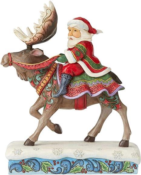 Jim Shore Heartwood Creek Christmas Reindeer Mini Figure New 2020