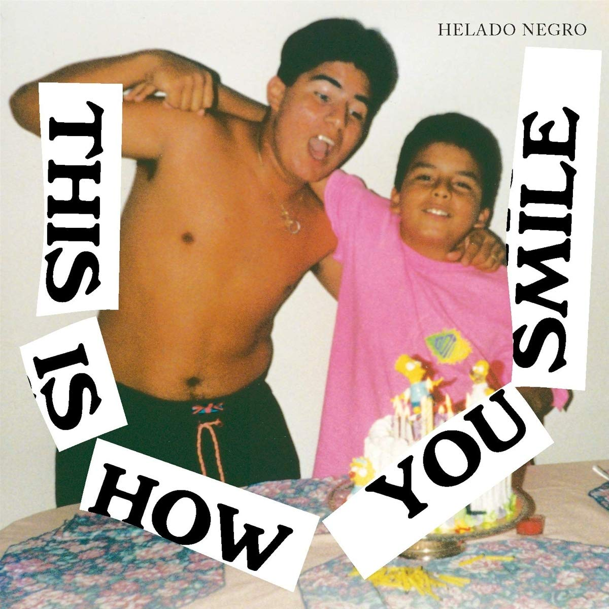 CD : Helado Negro - This Is How You Smile (CD)