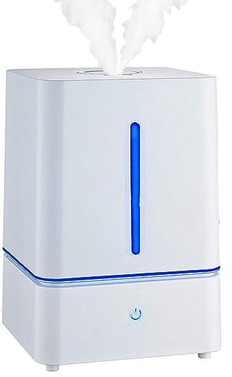 Ultraschall Luftbefeuchter Luftreiniger Luftreinigungsgerät LED-Licht Humidifier