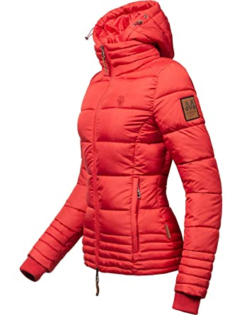 Marikoo Damen Winterjacke Stepp-Jacke Sole 9 Farben XS-XXL  Amazon.de   Bekleidung d41bbf80fc