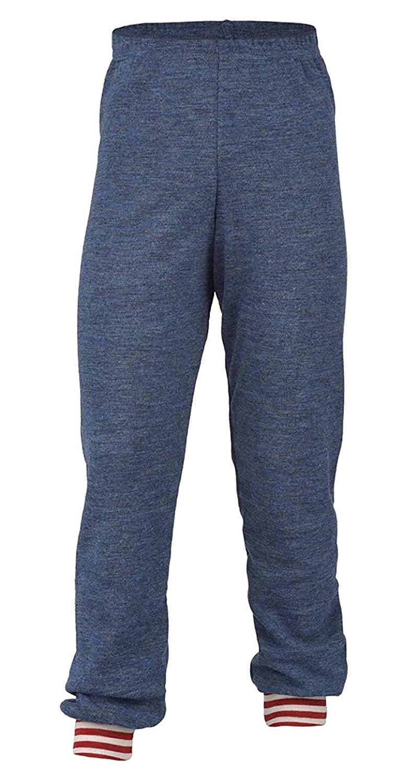 EcoAble Apparel Kids Thermal Pajama Lounge Pants, 100% Merino Wool, Sizes 2-8 years Engel