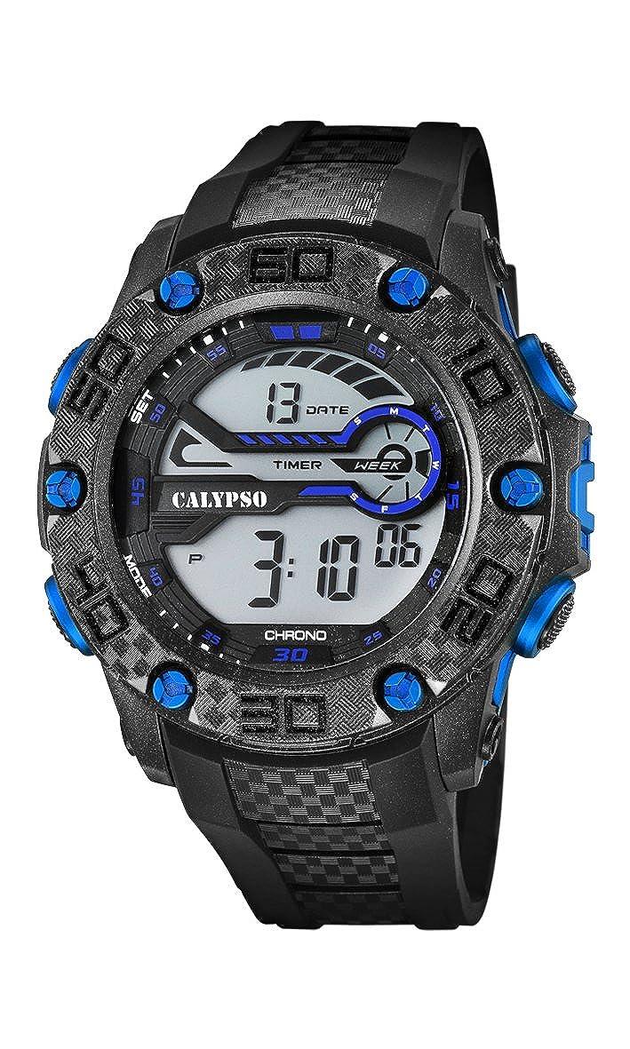 Calypso Watches Reloj Digital para Unisex de Cuarzo con Correa en Caucho K5691_7