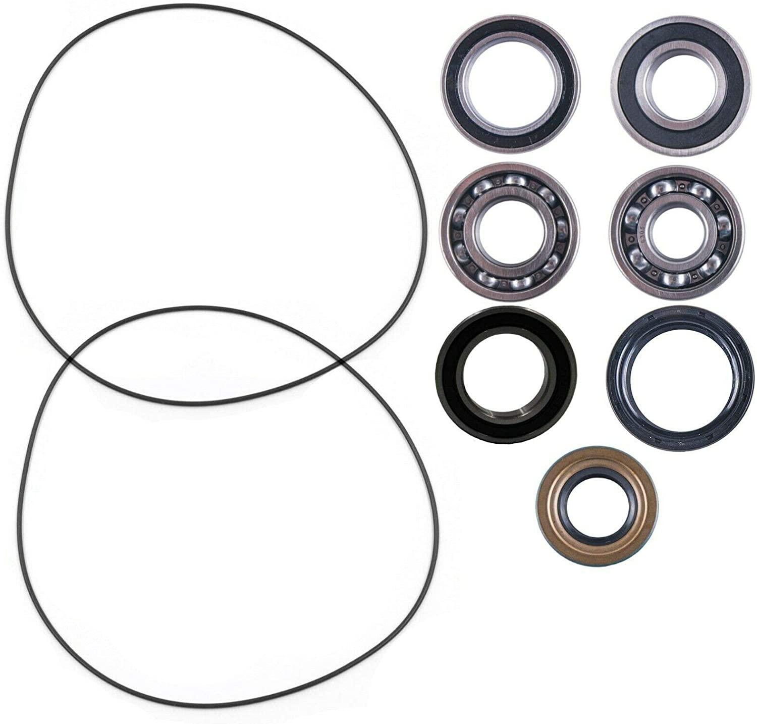 East Lake Axle rear wheel bearings kit compatible with Can Am Outlander//Max 500//650 800 2006-2012