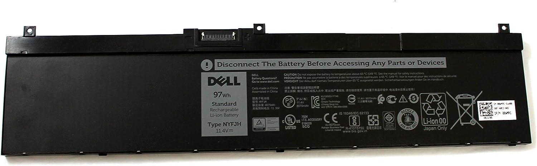 0WMRC Precision 7730 7530 Genuine 97Wh 11.4V Li-ion Battery NYFJH