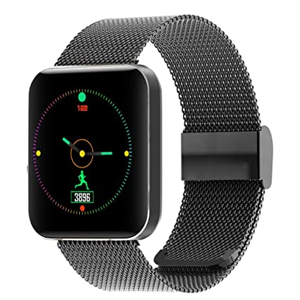 Amazon.com: NDGDA, 1.54inch Heart Rate Activity Step Counter ...