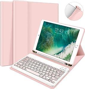 iPad Keyboard Case 9.7 for iPad 2018 6th Gen, iPad Pro 9.7