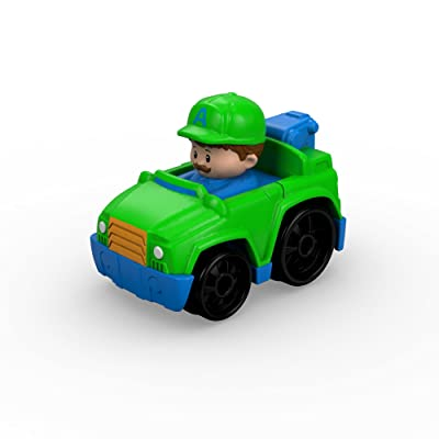 Fisher-Price Little People Wheelies Tow Truck: Toys & Games