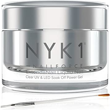 NYK1 NAIL FORCE Builder Gel UV and LED Power Builder Gel For Nails ...