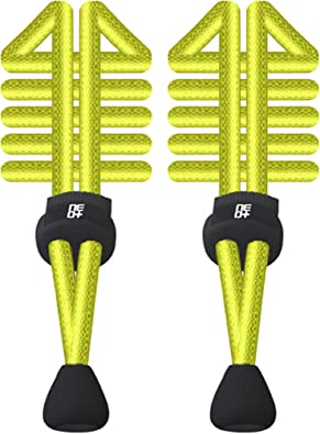 Paquetes de cordones elásticos redondos ajustables para correr y ...