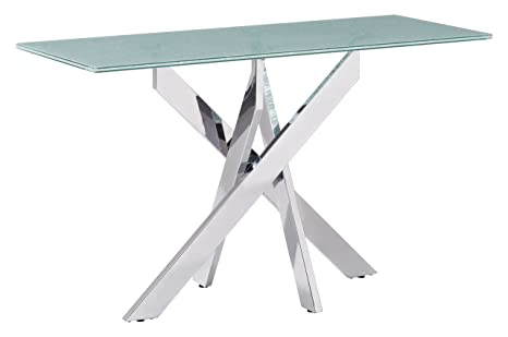 Amazon.com: Stance – Mesa consola Crackled: Kitchen & Dining