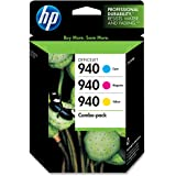 HP 940 Color Combo Pack for The Us, Includes -1 Cyan/1 Magenta/1 Yellow Car