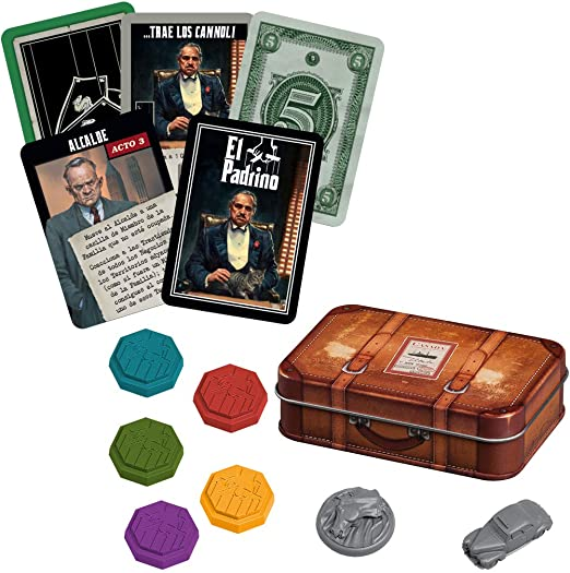 El Padrino - El imperio Corleone (Edge EECMGF01): Amazon.es ...