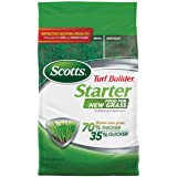 Scotts Turf Builder Starter Food for New Grass - Covers 14,000 sq ft., 42 lbs.