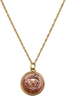 product image for American Coin Treasures Pig Coin Pendant Necklace