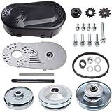 212cc Torque Converter Go Kart Clutch 3/4 inch 10T 40/41 & 12T 35 Chain Predator Drive Belt Pulley Replace for Manco…