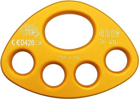 Desconocido Kong 4RIG Placa de Anclaje, Hombre, Naranja,
